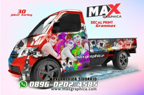 granmax maxgraphica cutting sticker sidoarjo